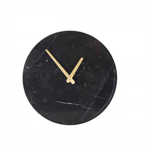 Black Marble Clock