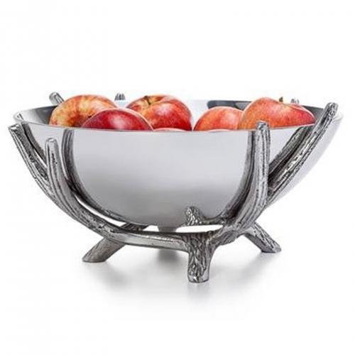 Pedestal Bowl - Aluminium