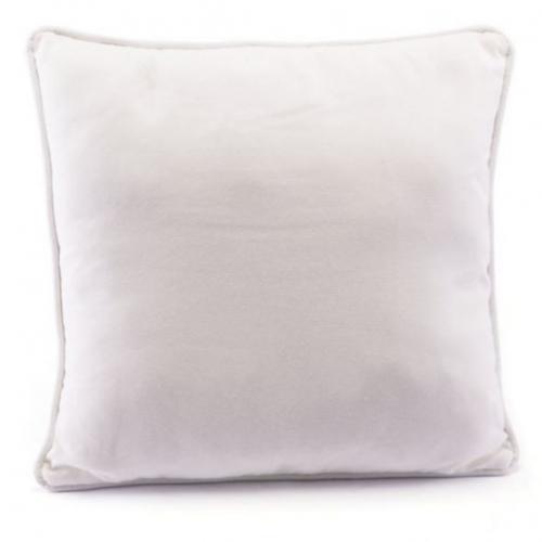 Velvet Pillow White