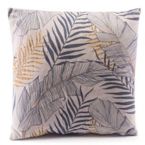 Tropical Pillow Gray