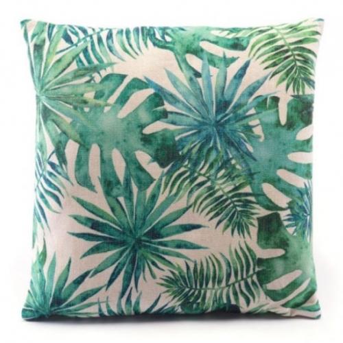 Tropical Pillow Green