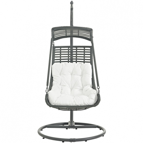 Swing Chair Gray & White