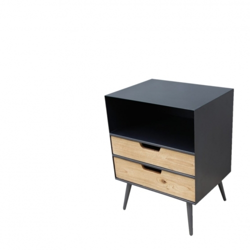 Simon 2 Drawer End Table