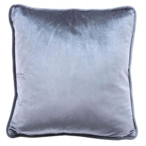 Velvet Pillow Gray