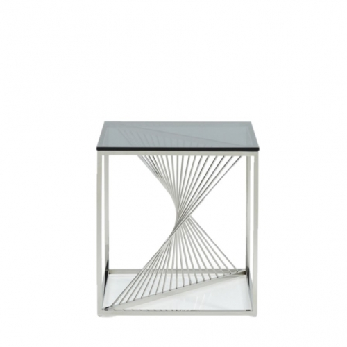 Spiral End Table